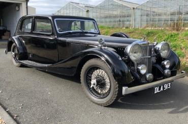 Alvis Speed 25 Charlesworth Saloon