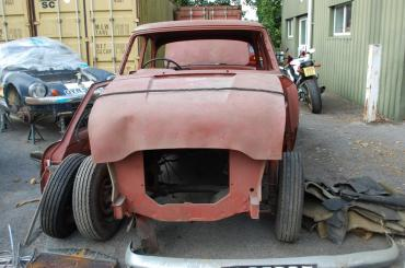 Ford Zephyr 6 Mk II Restoration Project